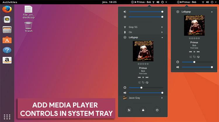 ubuntu system tray