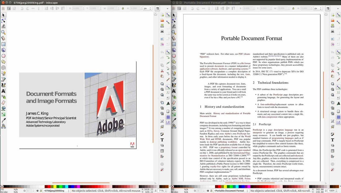 Inkscape PDF Editor