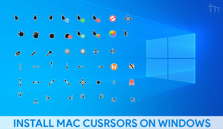 mac os cursors windows 10