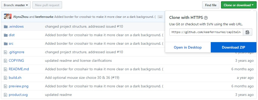 download mac cursors from github