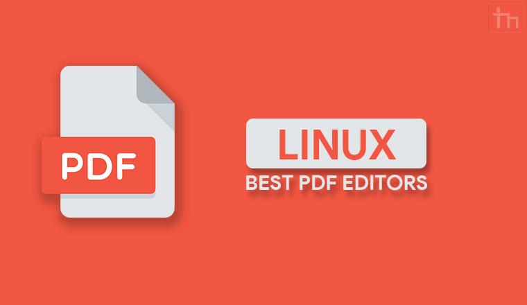 Best PDF Editors Linux