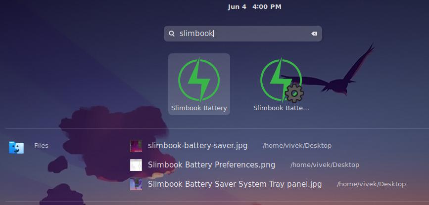 install slimbook