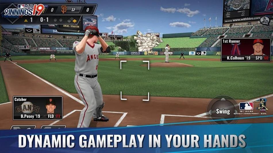 MLB 9 Innings 19 game