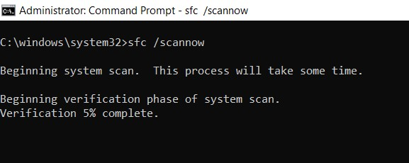 scan multiple command prompt