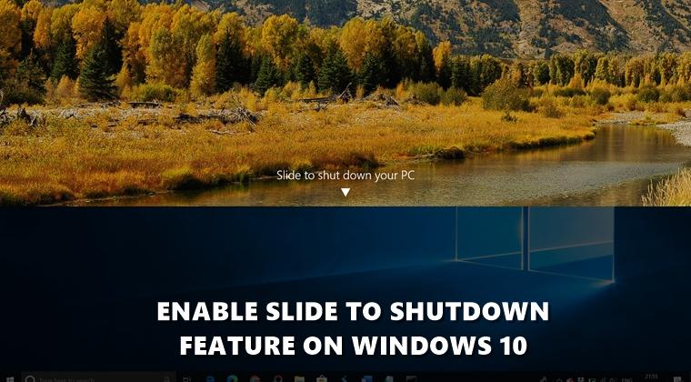 slide to shutdown cover