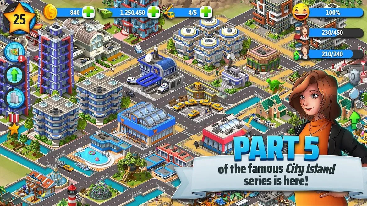 City Island 5 city simulation games