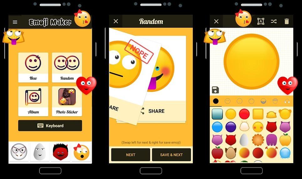 Emoji Maker android app