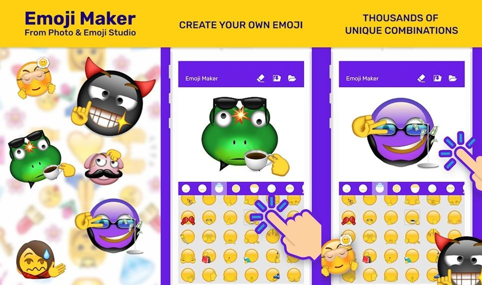 Emoji maker from photo