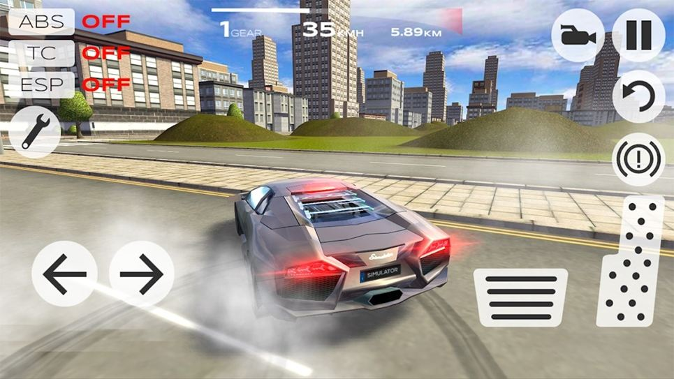 Extreme Car Driving Simulation games