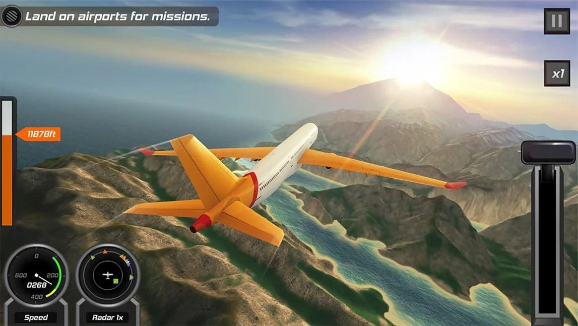 Flight Pilot simulation games screenshot