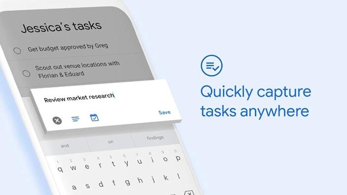 Google Tasks to-do list app