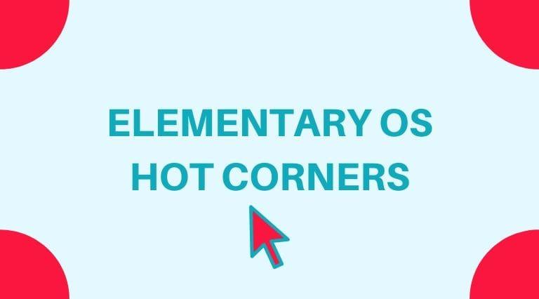 elementary os corners