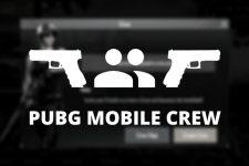 PUBG mobile crew