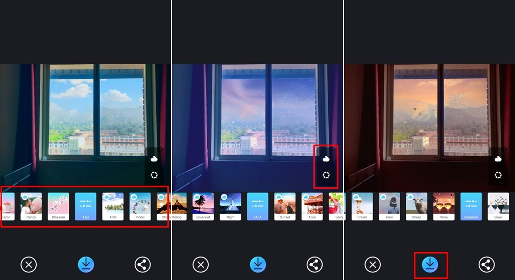 PICNIC Sky Filters
