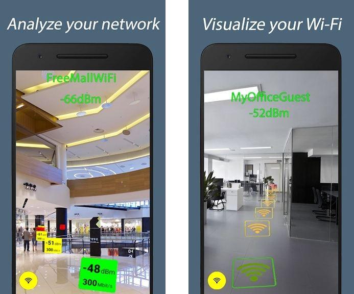 WiFi AR features