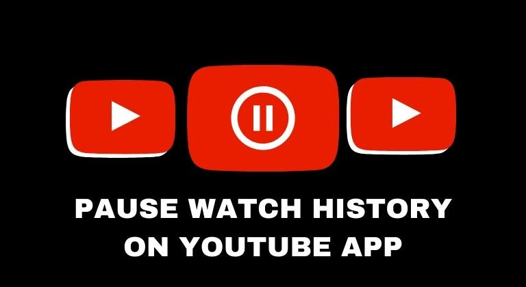 Pause Watch History YouTube cover