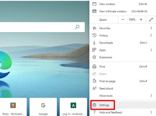 dark mode in Microsoft edge