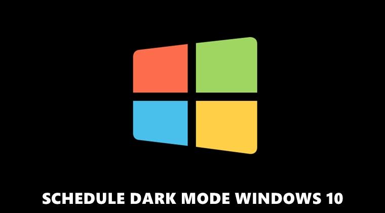 dark mode windows