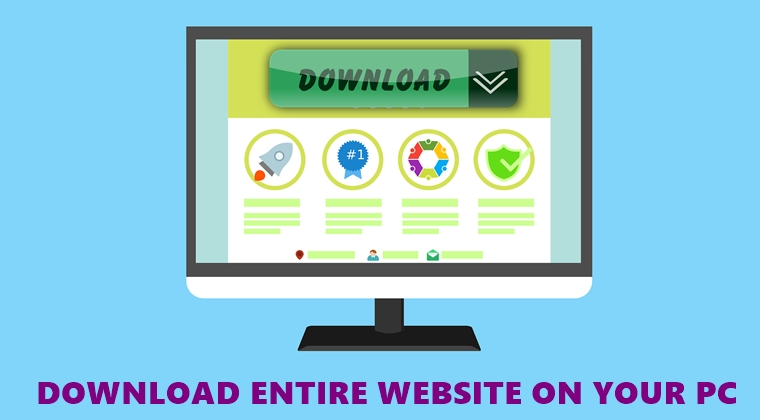 download website cover