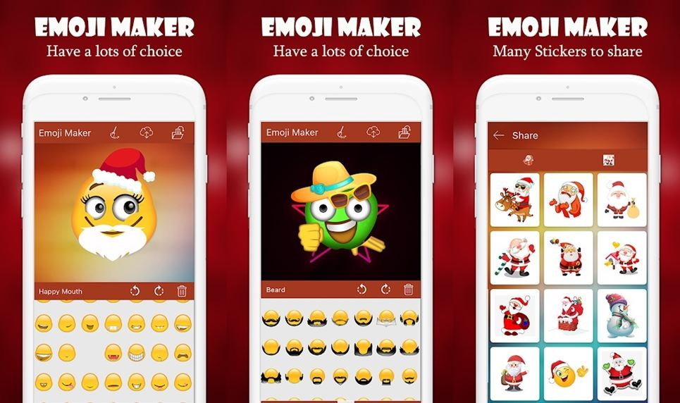 emoji maker for share app