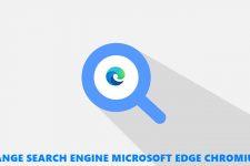 search engine edge chromium