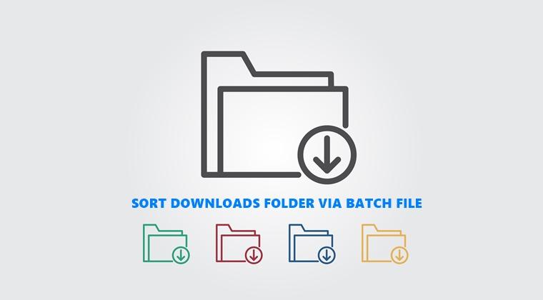 sort files in download folder