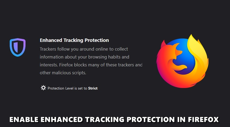 tracking protection firefox