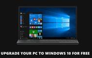upgrade windows 10 free