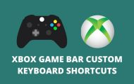 Xbox game bar cover