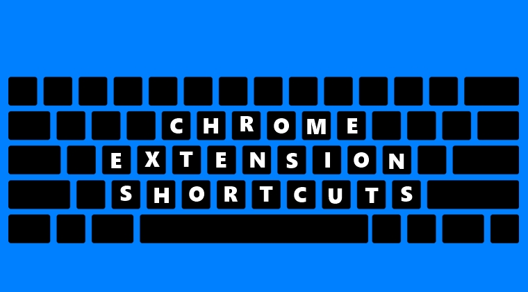 chrome extension shortcut