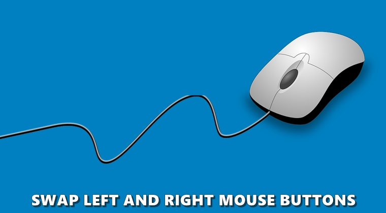 swap mouse buttons