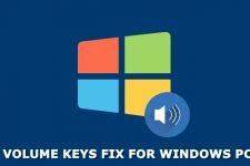 volume keys fix