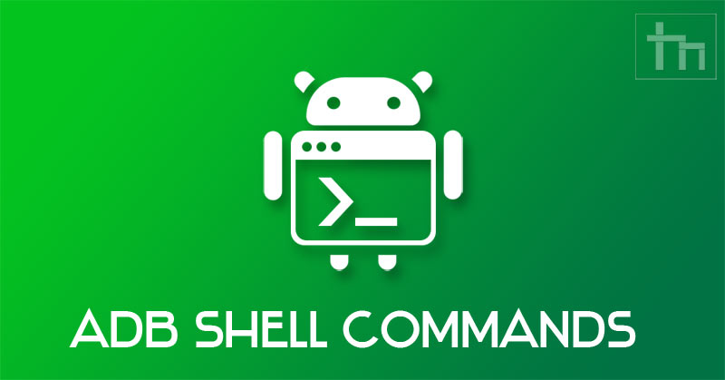 adb shell commands