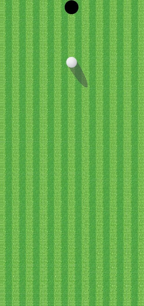 golf hole dot notch wallpaper