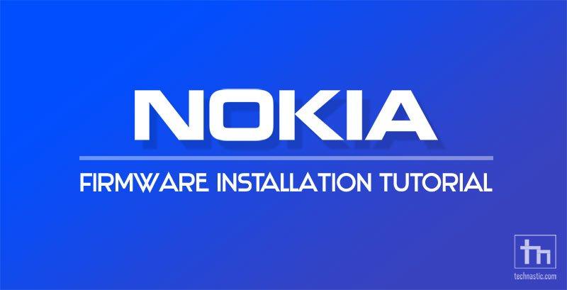 flash nokia firmware