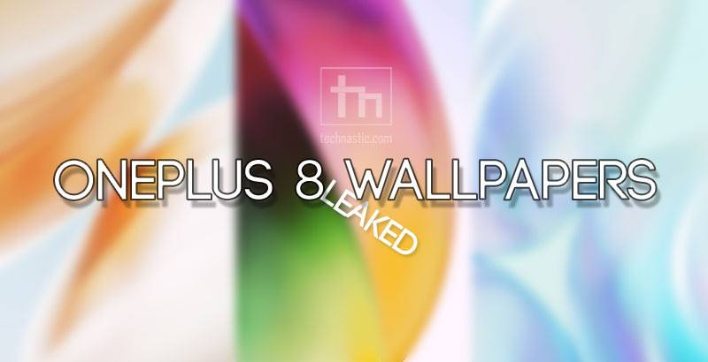 oneplus 8 leaked wallpapers