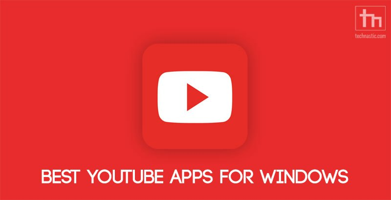 youtube apps windows