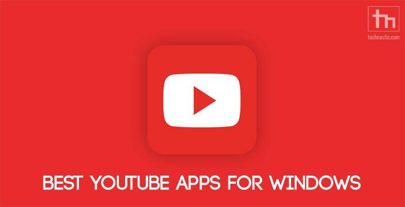 youtube apps windows
