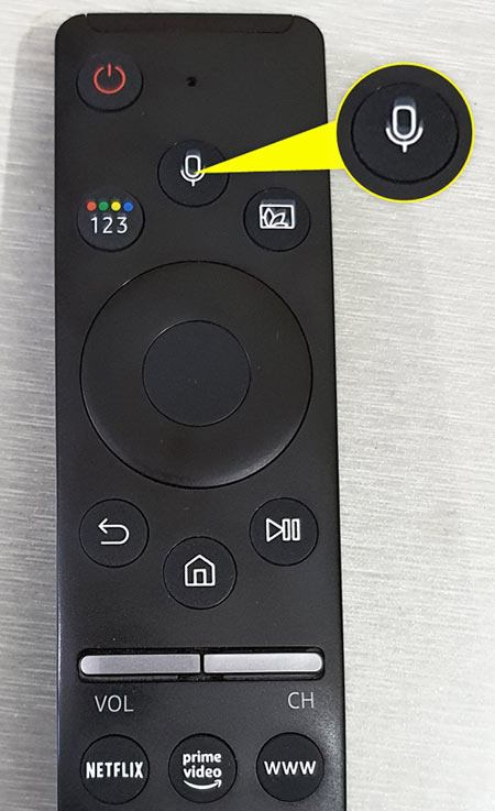 samsung smart tv voice remote
