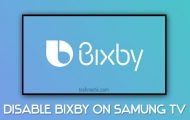 samsung tv bixby