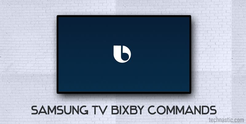 samsung tv bixby voice commands