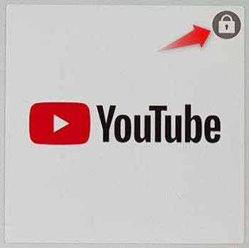 Youtube app locked on samsung tv