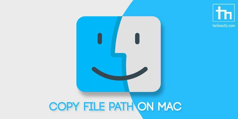 copy file path on mac os x