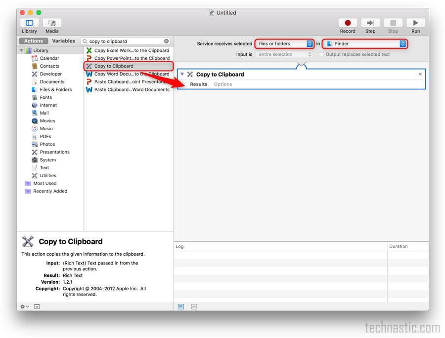 add copy file path option via service menu on mac os