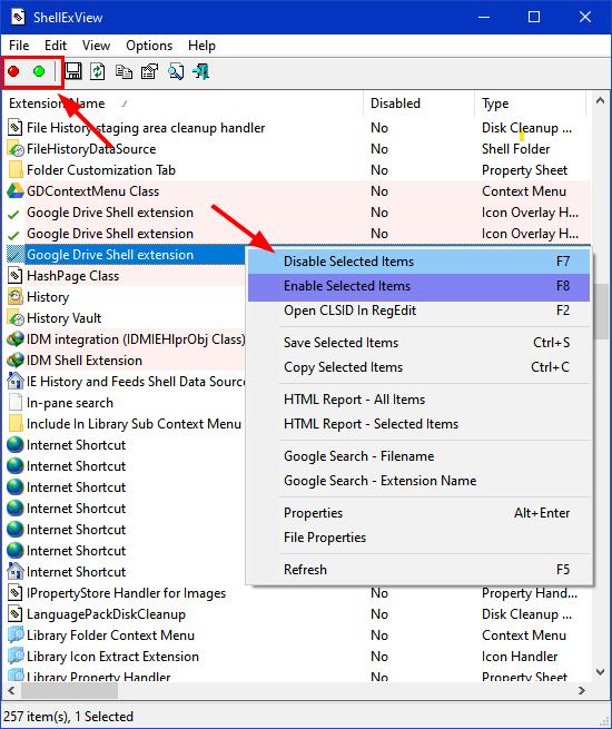 nirsoft shellex view tool