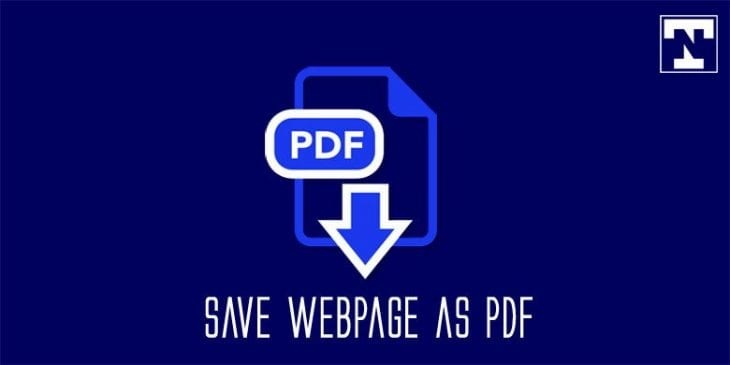 save webpage pdf on android