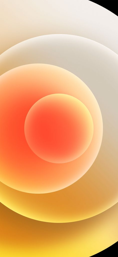 iphone 12 orange wallpaper