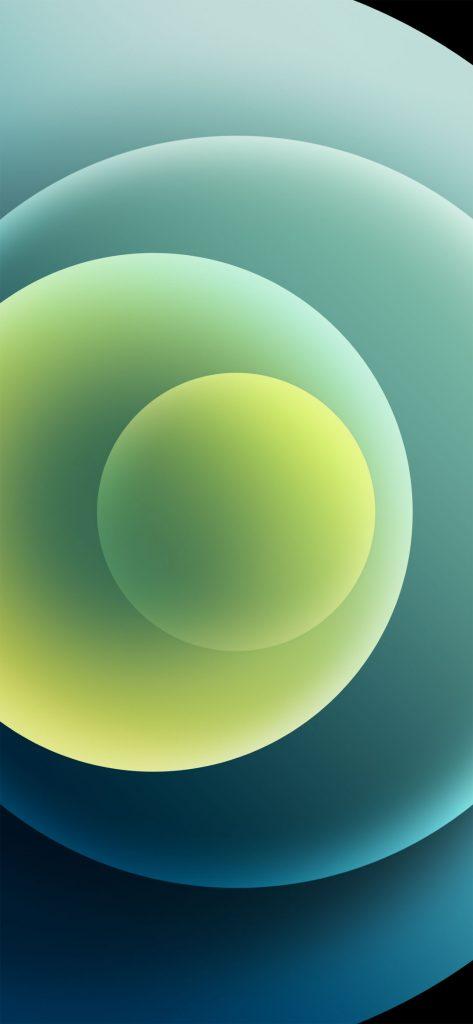 iphone 12 green wallpaper