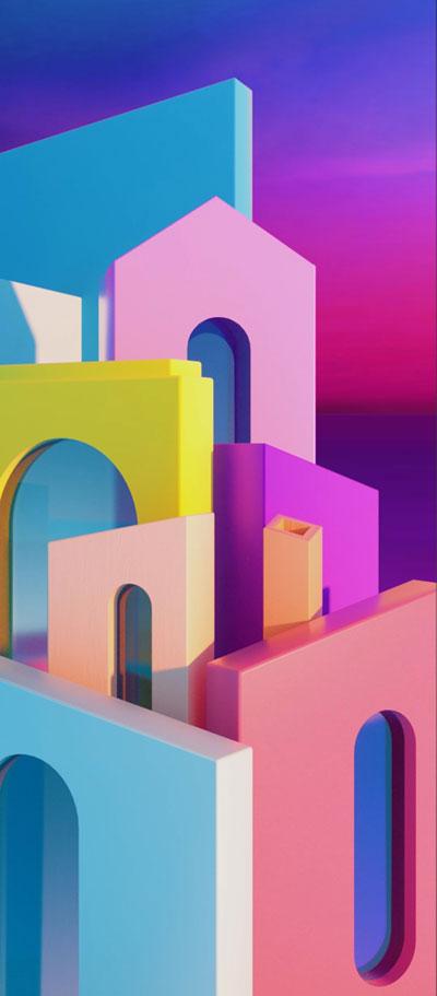 digital stucture wallpaper