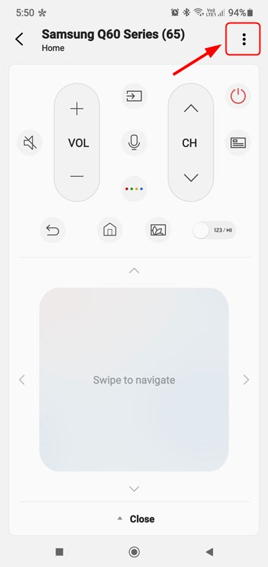 samsung tv remote smartthings